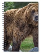 Having A Bad Fur Day Spiral Notebook