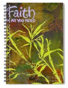Having Faith Spiral Notebook