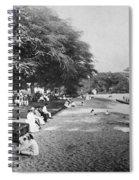 Hawaii: Beach, C1914 Spiral Notebook