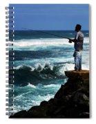 Hawaiian Fisherman Spiral Notebook