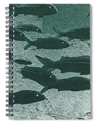 Hawaiian Goatfish School Spiral Notebook