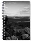 Hawk Mountain Sanctuary Bw Spiral Notebook