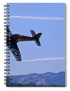 Hawker Sea Fury Spiral Notebook