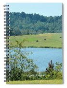 Hay Rolls On A Hill Spiral Notebook