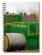 Hay Tractor Spiral Notebook