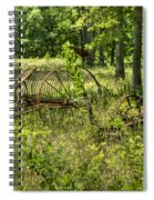 Hayrake And Cutter 2 Spiral Notebook