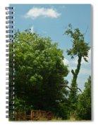 Hayrake In The Woods Spiral Notebook