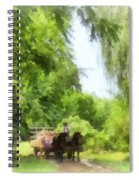 Hayride Spiral Notebook