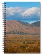 Haystack Autumn View Spiral Notebook