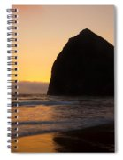 Haystack Reflections Spiral Notebook