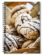 Hazelnut Cookies Spiral Notebook