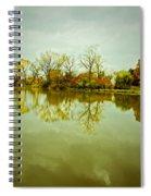 Hazy Autumn Afternoon Spiral Notebook