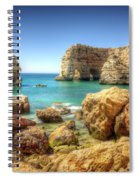 Hdr Rocky Coast Spiral Notebook