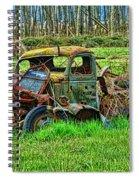 Hdr Wreck Spiral Notebook