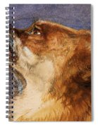 Head Of A Fox Spiral Notebook