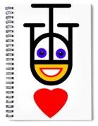 Head Over Heels Spiral Notebook