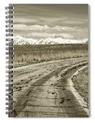 Heading West 2 Spiral Notebook