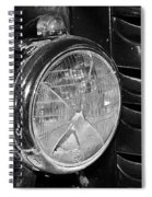 Headlamp Out Spiral Notebook
