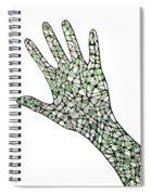 Healing Hands 1 Spiral Notebook