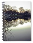 Hearns Pond Reflection Spiral Notebook