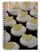 Heart Cupcakes Spiral Notebook