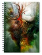 Heart Of Christmas Spiral Notebook