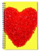 Heart Of Glass Spiral Notebook