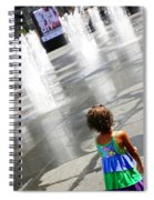 Heart Of The City Spiral Notebook