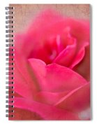 Heart Of The Rose Spiral Notebook