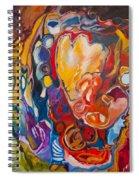 Heart Pumps Blood  Spiral Notebook