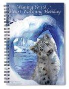 Heart Warmer Card Spiral Notebook