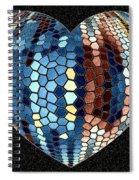 Heartline 4 Spiral Notebook