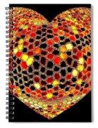 Heartline 7 Spiral Notebook
