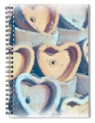 Hearts A Plenty Spiral Notebook