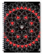 Hearts And Lace 2012 Spiral Notebook