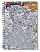Hearts Cold As Ice Spiral Notebook