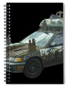 Heaven Or Hell Car Spiral Notebook