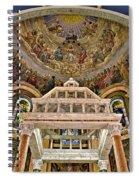 Heavenly Altar Spiral Notebook