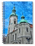 Heavenly Blues				 Spiral Notebook