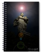 Heavenly Statue Spiral Notebook