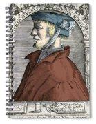 Heinrich Cornelius Agrippa, German Spiral Notebook