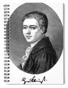 Heinrich Von Kleist Spiral Notebook