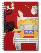 Held - Sheik And Sheba 1925 Spiral Notebook