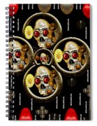 Hell Flowers Spiral Notebook