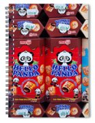 Hello Panda Biscuits Spiral Notebook
