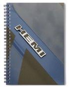 Hemi Emblem Spiral Notebook