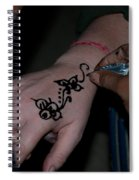 Henna Hand Spiral Notebook