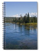 Henry Fork Of The Snake River Spiral Notebook