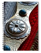 Her Disco Belt Spiral Notebook