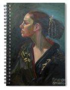 Her Kimono Spiral Notebook